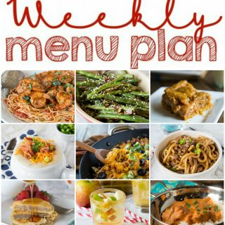 Weekly Meal Plan Week 123