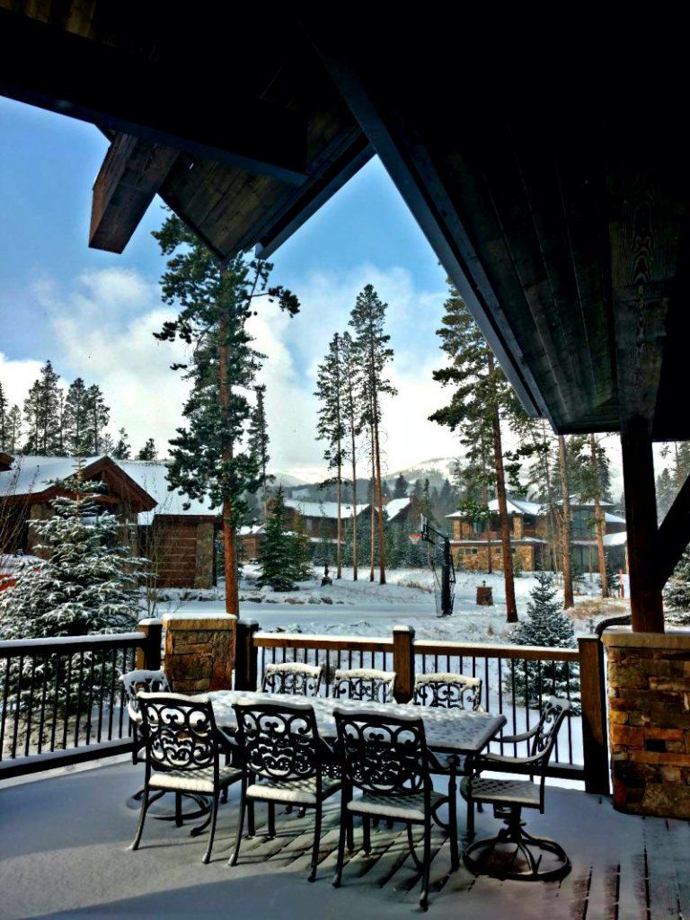 Breckenridge Colorado - woke up to snow!