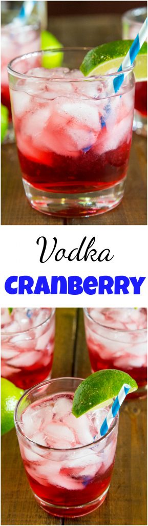 Vodka Cranberry is a classic cocktail you can get at any restaurant or bar. Now make it at home with these easy recipe!  #drinks #drinking #cocktails #vodka #happyhour #vodkacranberry
