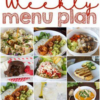 Weekly Meal Plan Week 129