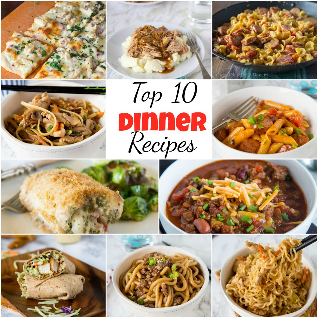 Top 10 dinner recipes dinners dishes and desserts top 10 dinner recipes find the 10 most viewed easy dinner recipes on the blog forumfinder Choice Image