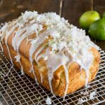 Coconut Lime Quick Bread