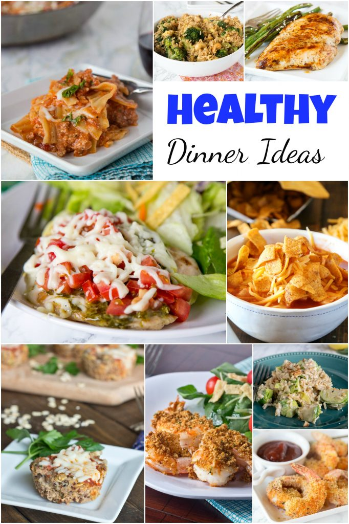 Healthy Dinner Ideas - looking to mix up your dinner, but want to keep it healthy?  Here are 20 of my favorite healthy dinner recipes for any night of the week.  #dinners #dinnerideas #healthydinnerideas #healthy #food #recipes