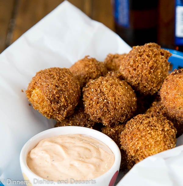 Homemade Hush Puppies Recipe Dinners Dishes And Desserts