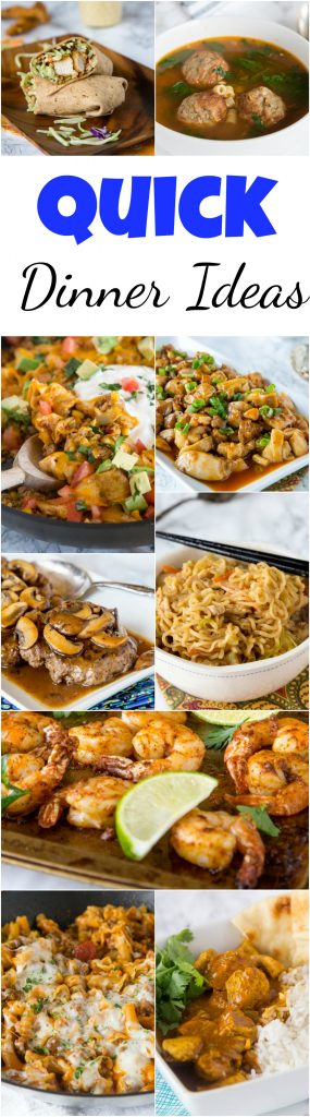 quick dinner ideas dinners dishes and desserts