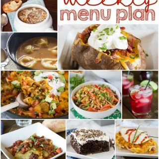 Weekly Meal Plan Week 132