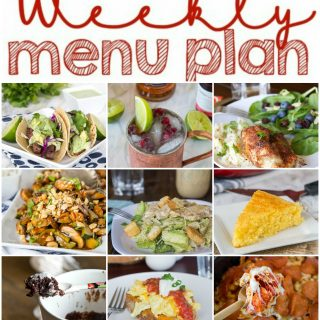 Weekly Meal Plan Week 131