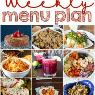 Weekly Meal Plan Week 130