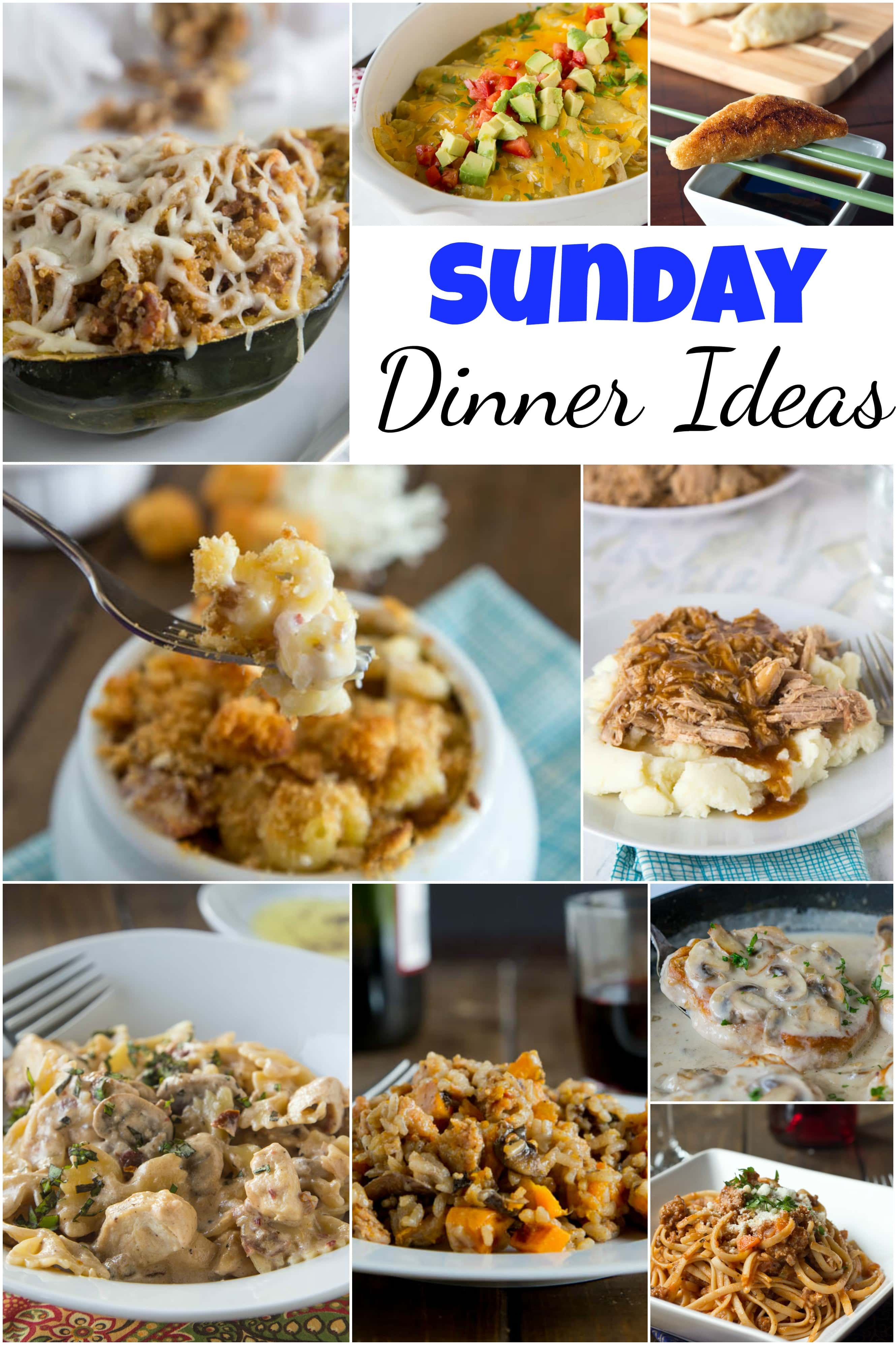 Sunday dinner ideas dinners dishes and desserts forumfinder Image collections