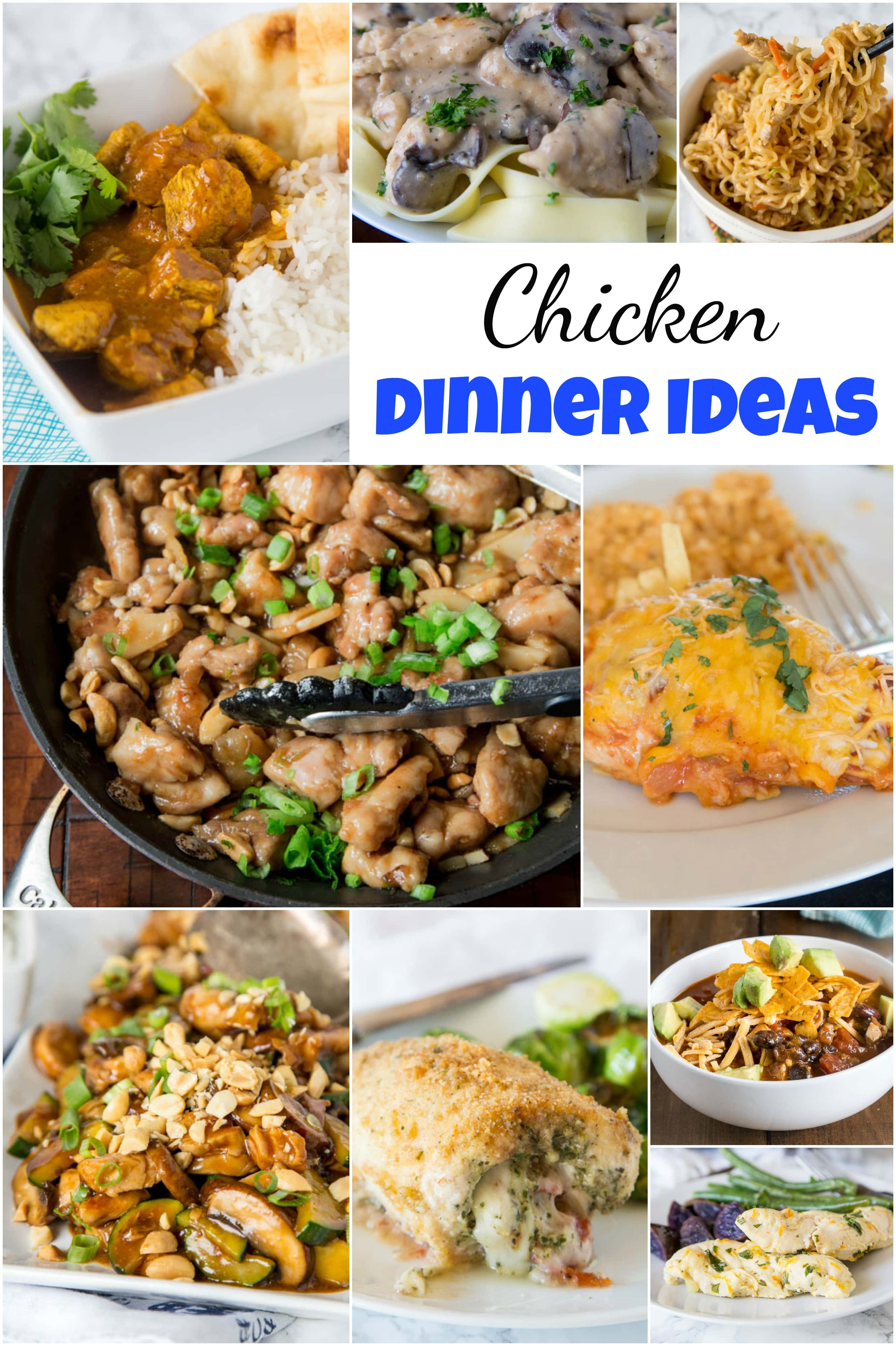 Chicken dinner ideas dinners dishes and desserts for What should i make for dinner with chicken
