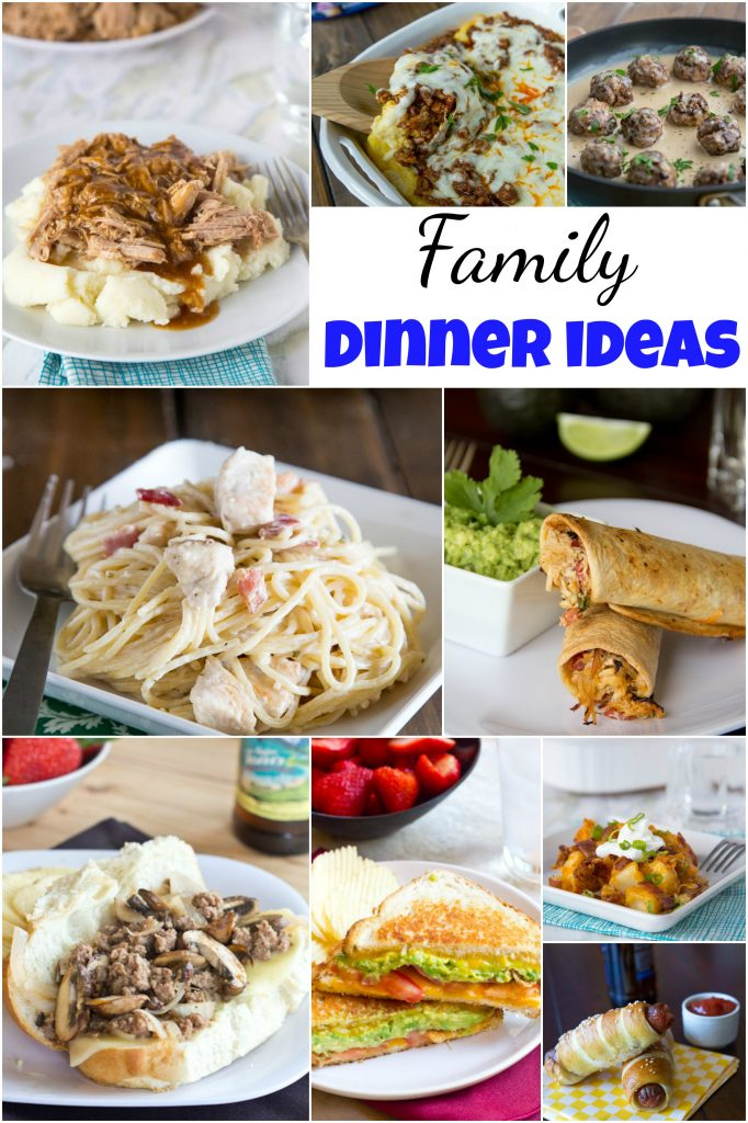 Family Dinner Ideas Dinners Dishes And Desserts