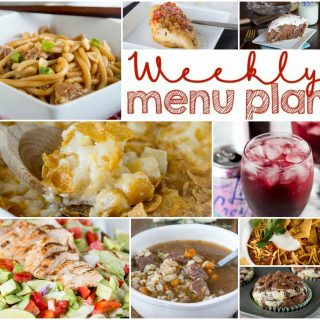 Weekly Meal Plan Week 140