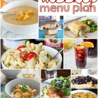 Weekly Meal Plan Week 137