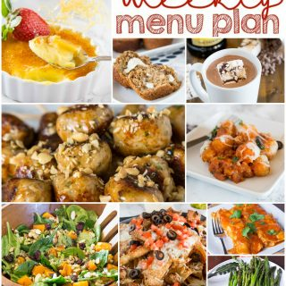 Weekly Meal Plan Week 136