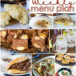 Weekly Meal Plan Week 138
