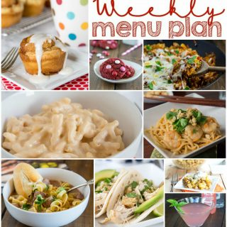 Weekly Meal Plan Week 135