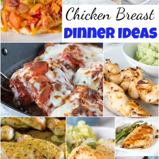 Chicken Breast Dinner Ideas - stock up when chicken breasts are on sale, because here are 25 new and fun chicken dinner ideas to break up your week!