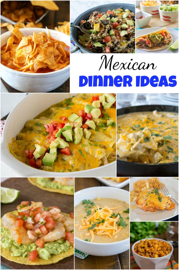 Mexican dinner ideas dinners dishes and desserts mexican dinner ideas everyone loves mexican food tacos enchiladas quesadillas margaritas forumfinder Choice Image