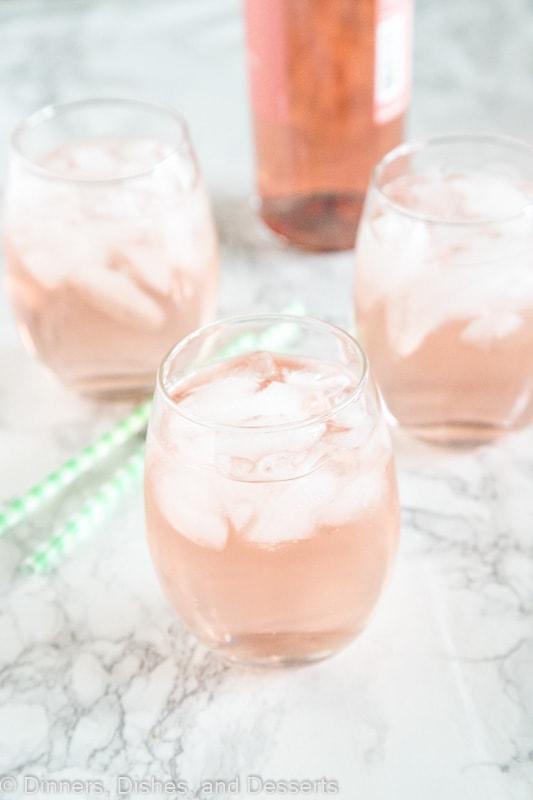 rose wine spritzer recipe