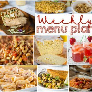 Weekly Meal Plan Week 144