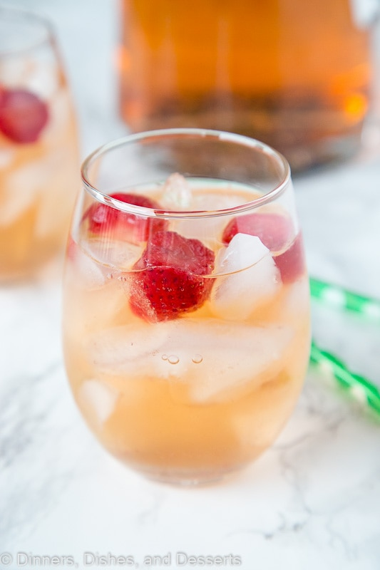 Strawberry Rum Punch