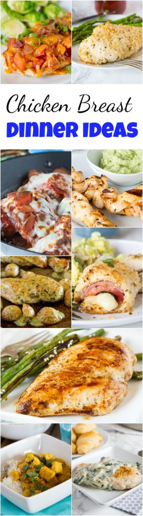 Dinner Recipe Ideas - Need some new ideas to mix up dinner?  Here are 25 easy, fast, and great dinner recipes that will liven up your week! #dinnertime #dinnerideas #dinnerrecipes #roundup #recipes #food
