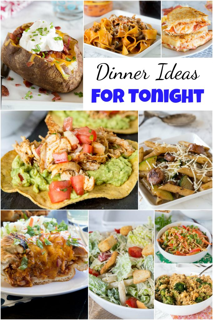 Dinner ideas for tonight dinners dishes and desserts for What can i make for dinner tonight