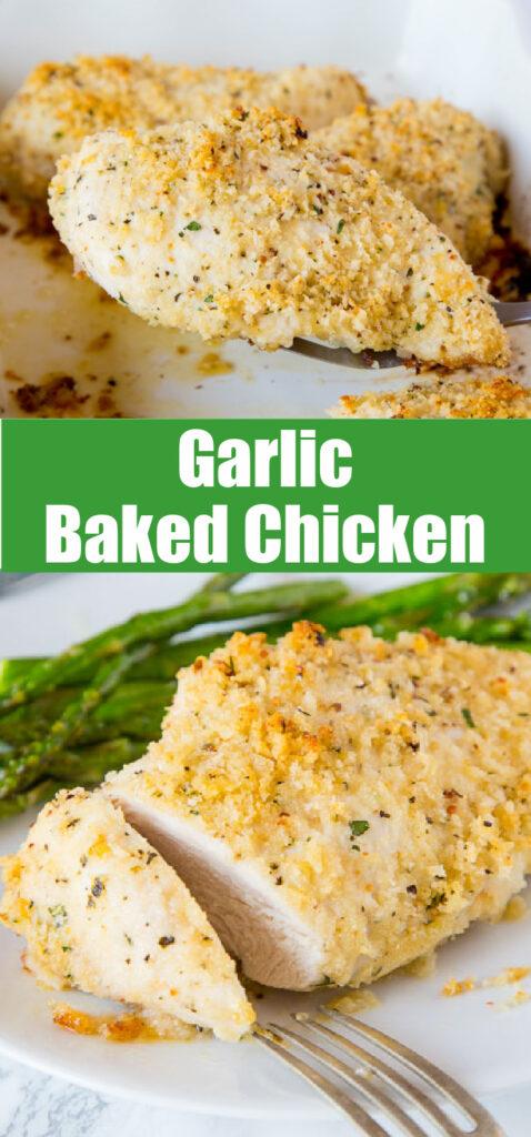 garlic chicken breast for pinterest