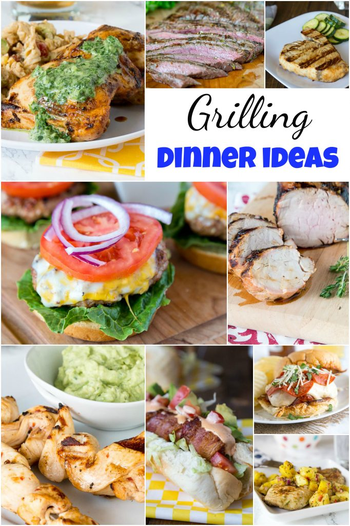 Grilling Ideas For Dinner When It Is Hot Out On The Grill