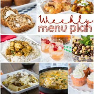Weekly Meal Plan Week 148