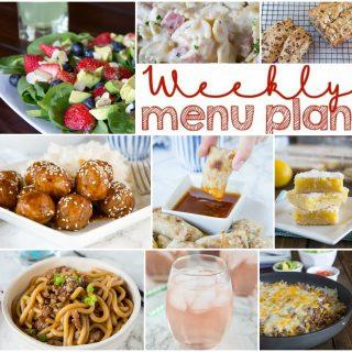 Weekly Meal Plan Week 145