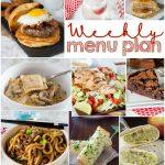 Weekly Meal Plan Week 149