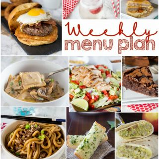 Weekly Meal Plan Week 149