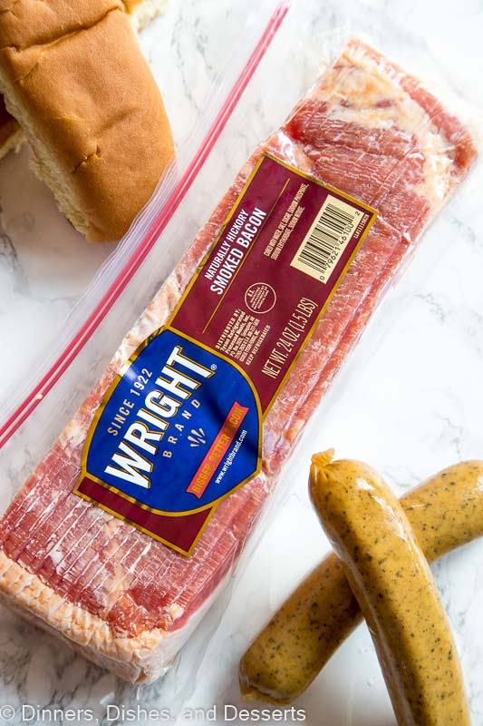 package of wright bacon