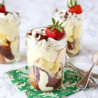 Boston Cream Pie Parfaits