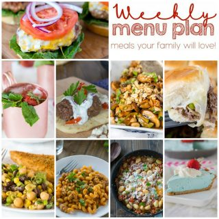 Weekly Meal Plan Week 151