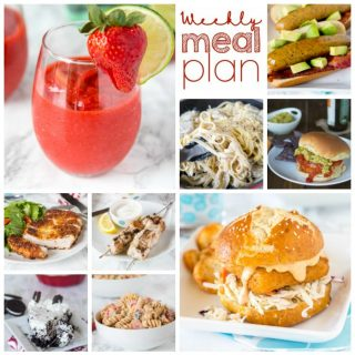 Weekly Meal Plan Week 152