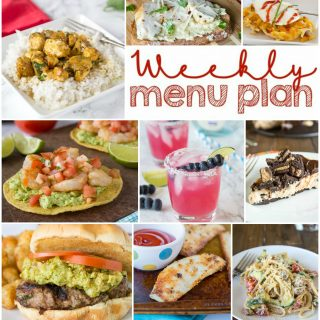 Weekly Meal Plan Week 150