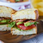 Garlic Bread BLT