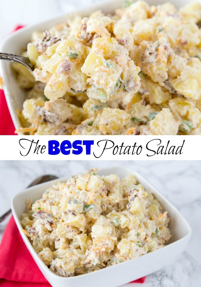 Best Potato Salad Recipe - an easy and over the top potato salad that is perfect for summer cookouts, pot lucks, or just a weeknight side dish!