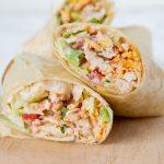 Crunchy Southwestern Chicken Wrap