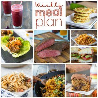 Weekly Meal Plan Week 158