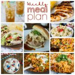 Weekly Meal Plan Week 157