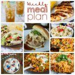Weekly Meal Plan Week 157