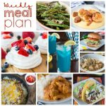 Weekly Meal Plan Week 160