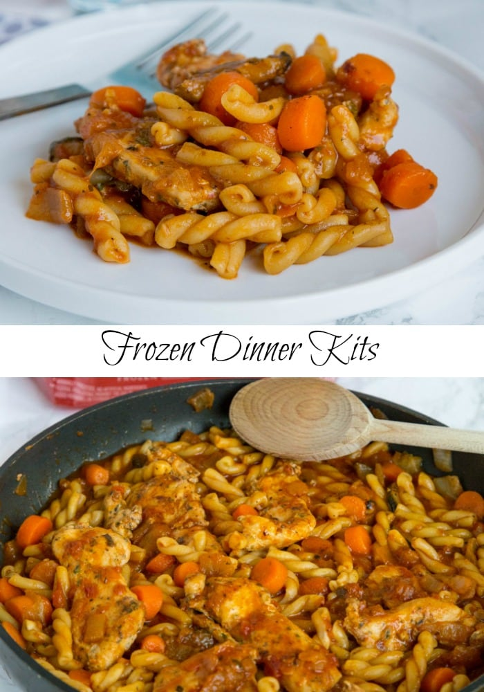 Tyson Tomato Herb Chicken & Vegetable Pasta - dinner kits make meal time so much easier! Love this chicken and pasta version for quick dinner any night of the week.