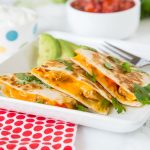 Fajita Chicken Quesadilla