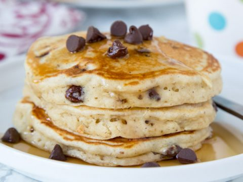 Chocolate Chip Banana Pancakes Dinners Dishes And Desserts