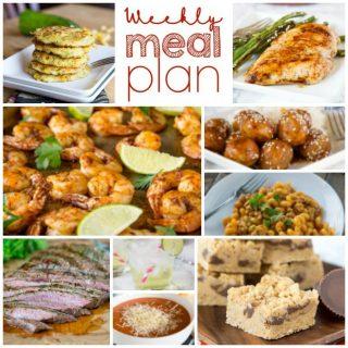 Weekly Meal Plan Week 163
