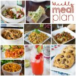 Weekly Meal Plan Week 166